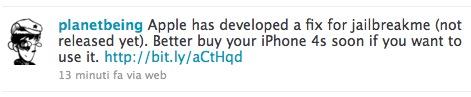 planet Jailbreak News   Apple a comblé la faille de JailbreakMe, mais na pas encore publié le fix