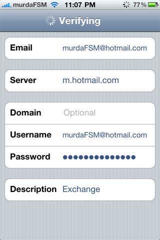 push hotmail 6 Tutoriel   Comment avoir le PUSH sur Hotmail