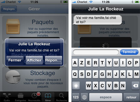quickreply Cydia   Les meilleures applications Cydia pour iOS 4