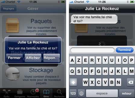 quickreply11 Source iPhone3GSystem   Ajout de Quick Reply SMS compatible iOS 4 cracké