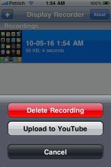 scree Cydia   Mise à jour de Display Recorder en version 1.1 : compatible iOS 4