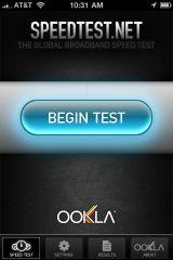 300704847 screen 1 small AppStore   SpeedTest.net Mobile mis à jour : testez le débit de votre connexion