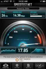300704847 screen 2 small AppStore   SpeedTest.net Mobile mis à jour : testez le débit de votre connexion