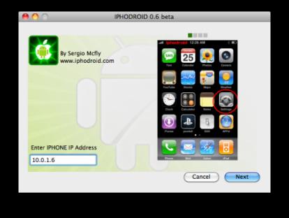 34134 5001 414x312 Tutoriel   iPhoDroid : Installer Android sur iPhone 2G / 3G
