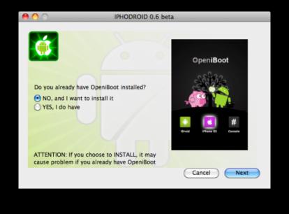 34155 500 414x306 Tutoriel   iPhoDroid : Installer Android sur iPhone 2G / 3G