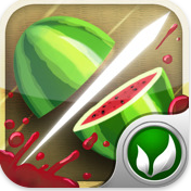 Capture d'écran 2010 09 21 à 00.07.57 Jeux   Fruit Ninja 1.4 : Compatible avec le Game Center