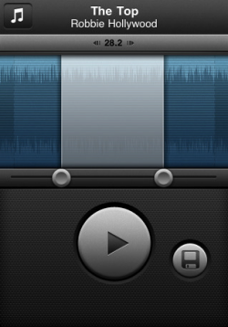 Capture d%E2%80%99%C3%A9cran 2010 09 21 %C3%A0 13.31.45 250x358 AppStore   Ringtone Designer Pro : Créer facilement des sonneries pour iPhone