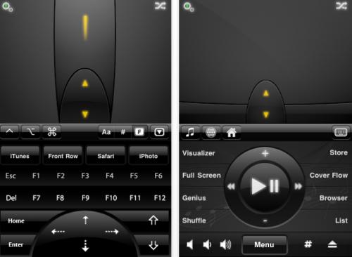 Capture d'écran 2010 09 23 à 01.19.37 500x366 AppStore   Contrôler son Mac à laide dun iPhone, iPad ou iPod Touch