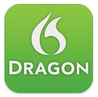Dragon Dictation b Appstore   Dragon dictation, écrivez vos SMS en les dictants à votre iPhone