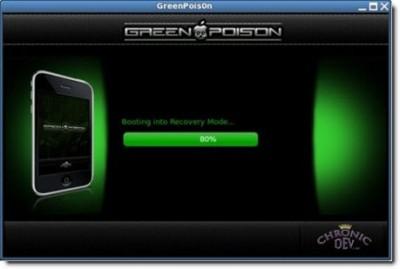 GreenPois0nJailbreak 400x269 Jailbreak News – Attention au vol d'informations personnelles via de faux jailbreaks
