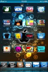 IMG 0033 160x240 Thème   Apple Class : Un magnifique thème pour iPhone