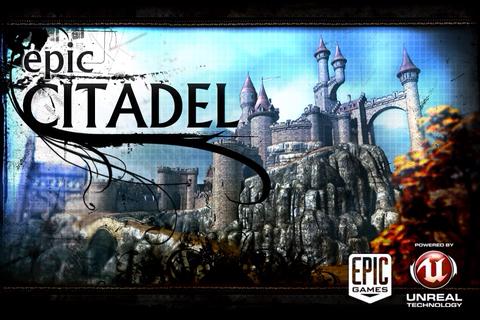 IMG 0070 AppStore   Epic Citadel, application présentée pendant la Keynote du 1er septembre [vidéo]