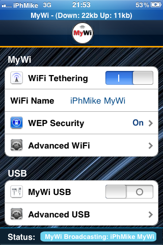 IMG 0119 Cydia – MyWi 4.7.7 cracké disponible et compatible iOS 4