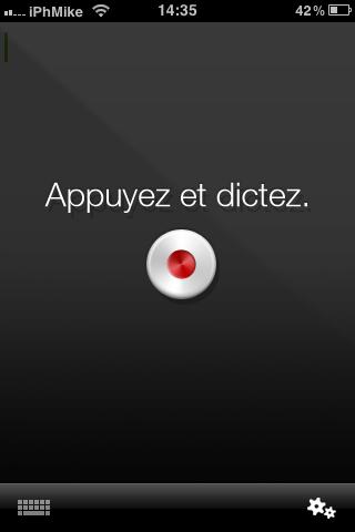 IMG 01311 Appstore   Dragon dictation, écrivez vos SMS en les dictants à votre iPhone