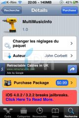 IMG 1181 160x240 Cydia   MultiMusicInfo : Afficher les informations de la musique dans le dock multitâche