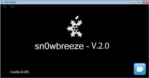 Snow 500x389 copia1 Jailbreak News   Sn0wBreeze 2.0 : Un jailbreak à vie pour liPod Touch 2G ?