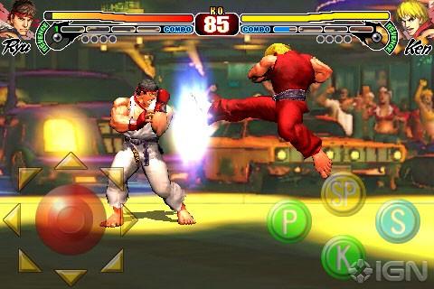 Street Fighter iphone Jeux – Street Fighter IV : Mise à jour qui apporte de nouveaux personnages