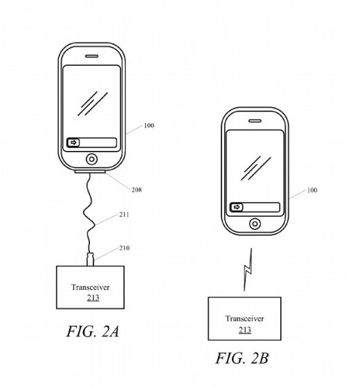 News - Un brevet assez intéressant pour les possesseurs d'iPod Touch dans Apple brevet-appel-500x562