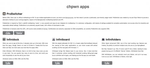 chpwnappe 500x227 Cydia   ChPwn et toutes ses applications
