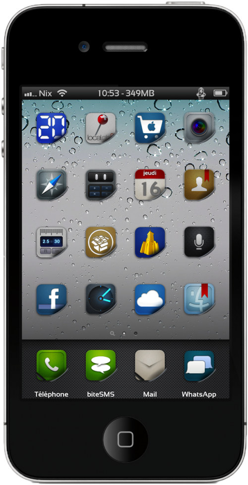 i4002 500x975 Thèmes   iMatte HD for iPhone 4   v.100917.1