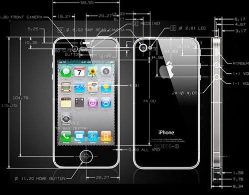 ihone 4 draw News – Steve Jobs intérrogé sur le prototype iPhone 4 volé