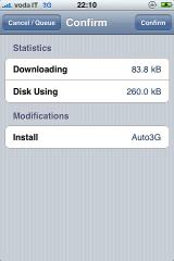 img 0346 Cydia   Mise à jour de Auto3G en version 1.3