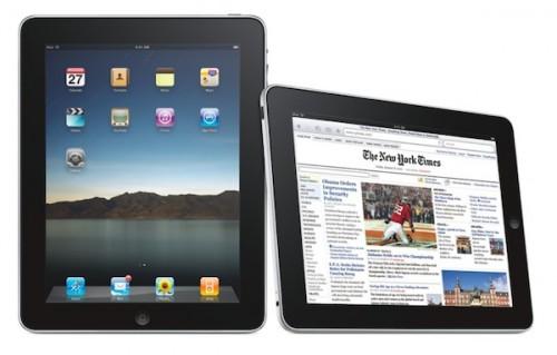 ipad 1 500x319 News, Rumeurs   Le prochain iPad avec caméra pour le premier trimestre 2011 ?