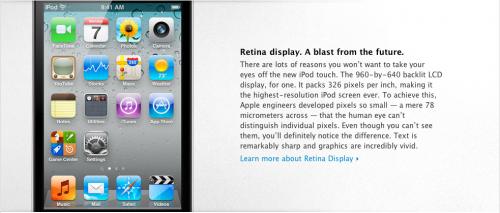 ipod 500x213 News   Présentation du nouvel iPod Touch