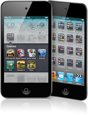 ipodtouch4 sanstel News, Humour   Un iPod Touch 4G pouvant téléphone : Apple et ses images