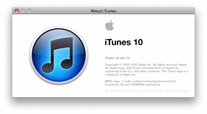 itunes10 2 News   Bêta iTunes 10.1 disponible pour les développeurs