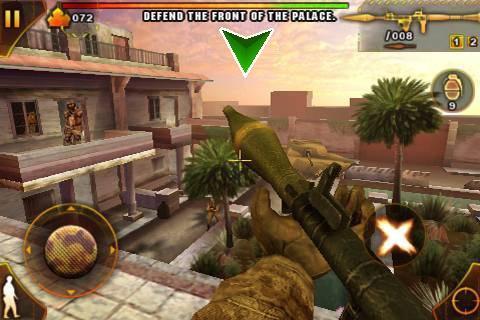 AppStore   Modern Combat 2 : Black Pegasus pour bientôt !