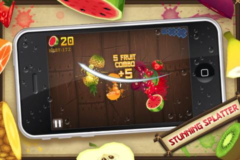 mzl.oqqajumw.320x480 75 Jeux   Fruit Ninja 1.4 : Compatible avec le Game Center