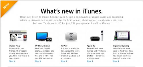 new 500x235 News   iTunes 10 est disponible au téléchargement