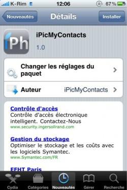 p 960 640 12C73F7D 54CE 4B25 AA1C 96D1654F6E64 250x374 Cydia   iPicMyContacts : Afficher la photo des contacts dans le répertoire