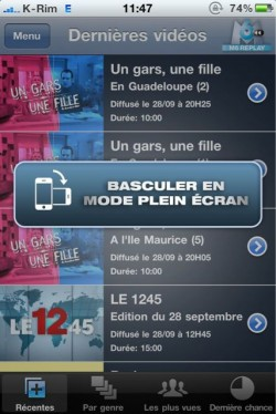 p 960 640 28D7E7AA 8C3E 4649 943A 4B240FBD1B46 250x374 AppStore   M6 : Enfin disponible pour iPhone