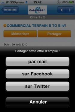 p 960 640 CC9C5E5F 2787 4D0A A482 DC0E87E583A5 250x374 AppStore – Cadremploi : Trouver un emploi depuis votre iPhone [gratuit]