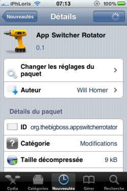 photo 19 250x375 Cydia   App Switcher Rotator : Activer le dock de multitâche en mode paysage