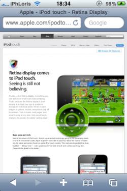 photo 21 250x375 News – Apple réparti discrètement quelques fonctionnalités en HTML 5