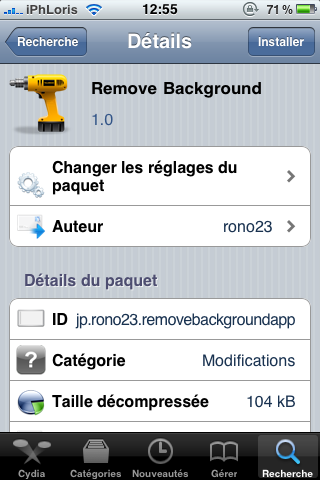 photo Cydia   Remove Background 1.0 : Supprimez toutes les applications en background via Activator