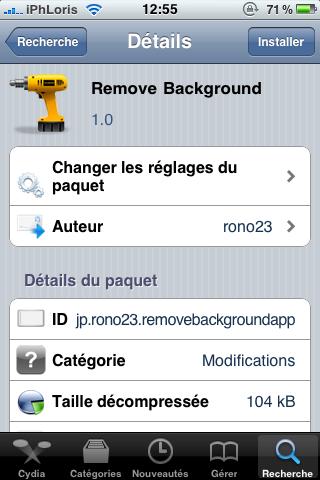 photo Cydia   Remove Background 1.0 : Supprimez toutes les applications en background via Activator