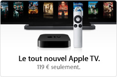 promo ipod appletv20100901 News   KeyNote : 01 Septembre 2010 [Résumé]