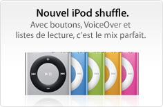 promo ipod shuffle20100901 News   KeyNote : 01 Septembre 2010 [Résumé]