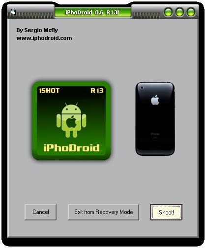 screenshot20100825at104 News   iPhoDroid enfin disponible pour Windows