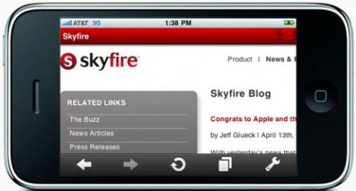 skyfire browser rm eng 540x290 500x268 Vidéo   SkyFire : Première vidéo du navigateur internet