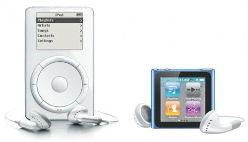 timeline 500x287 News   iPod + iTunes Timeline : Un résumé de toutes les versions iPod depuis 2001