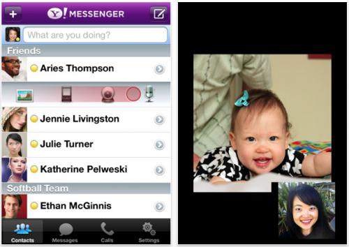 03635500 500x354 AppStore   Yahoo! Messenger passe en version 2.0.1