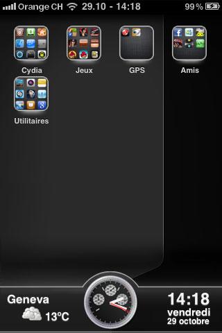 1101 Themes   GlassIllumine : Un nouveau thème pour votre iPhone