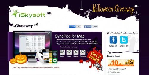 1111 500x253 News   iSkySoft : SyncPod gratuit pendant un temps limité