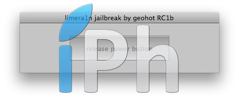 124 Tutoriel – Jailbreak 4.1 avec limera1n iPhone 4 / 3GS, iPad, iPod Touch 3G / 4G [MAC OS X]