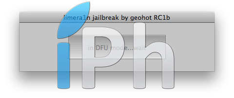 125 Tutoriel – Jailbreak 4.1 avec limera1n iPhone 4 / 3GS, iPad, iPod Touch 3G / 4G [MAC OS X]
